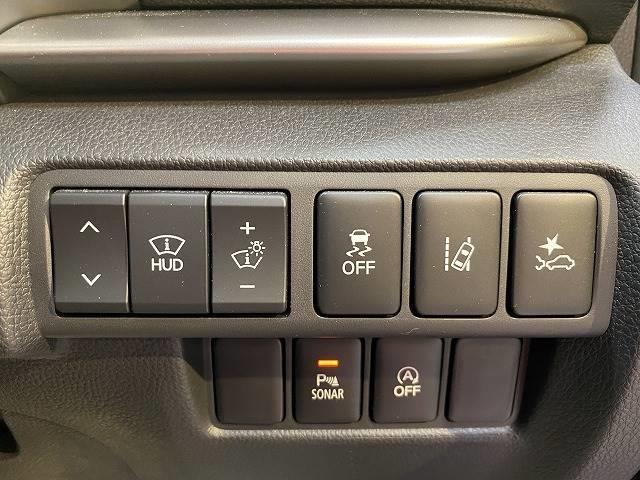 G ワンオーナー SDナビTV レーダークルーズ コーナーセンサー レーンキープ ヘッドアップディスプレイ ETC スマートキー 衝突軽減 LEDヘッド 4WD(4枚目)