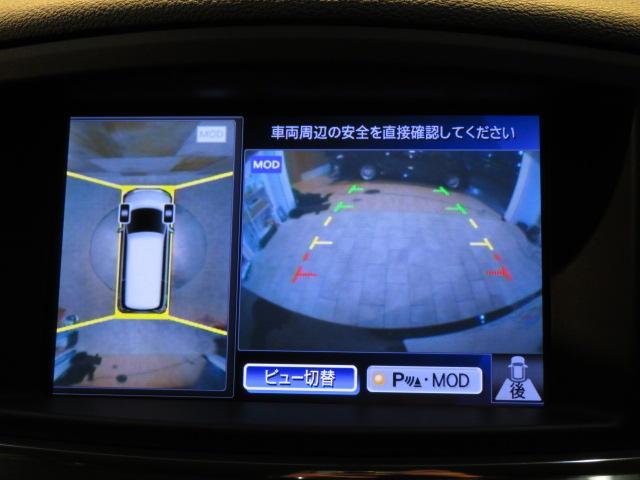 全周囲カメラ付き。駐車もスムーズになりますね。