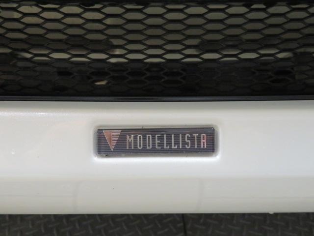 モデリスタエアロ装着車。ウィングデッキとの相性良いです。