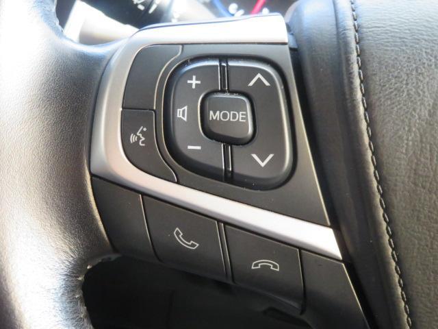 【ステアリングスイッチ】を搭載しております。オーディオ操作をハンドルで行うことが可能です。