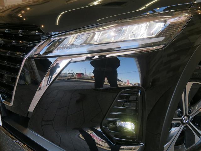 X 登録済未使用車 新品ナビTV アラウンドビューモニター プロパイロット スマートルームミラー クリアランスソナー レーダークルーズ ETC インテリキー LEDヘッド(17枚目)