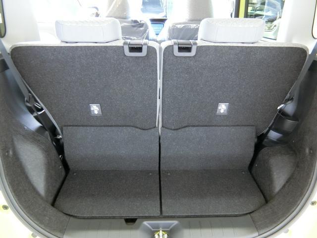 Xセレクション 衝突被害軽減ブレーキ 横滑り防止装置 オートマチックハイビーム 左側電動スライドドア ステアリングスイッチ LEDヘッドランプ 純正ホイールキャップ キーフリーシステム オートエアコン ベンチシート(12枚目)