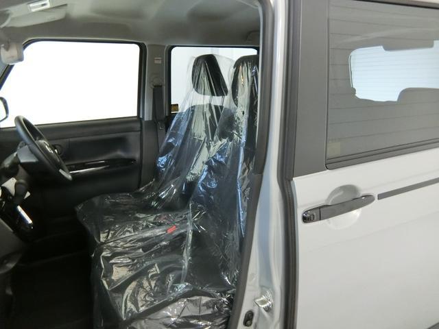 Xブラックアクセントリミテッド SAIII 衝突被害軽減ブレーキ 横滑り防止装置 オートマチックハイビーム アイドリングストップ 両側電動スライドドア ステアリングスイッチ 革巻きハンドル オートライト ベンチシート 純正ホイールキャップ(12枚目)
