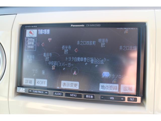X ホワイトルーフ 純正スポイラー ナビ/TV(10枚目)