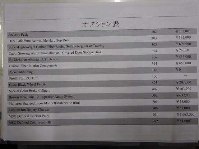 「マクラーレン」「600LTスパイダー」「オープンカー」「愛知県」の中古車2