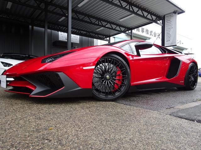 LP750-4 アヴェンタドール SV 世界限定600台 ディーラー車 カーボンインテリア パワークラフト可変マフラー&キャタストレート 純正マフラー有 フルプロテクションフォルム施工 SVビックデカール 備品全有(6枚目)