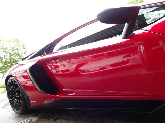 LP750-4 アヴェンタドール SV 世界限定600台 ディーラー車 カーボンインテリア パワークラフト可変マフラー&キャタストレート 純正マフラー有 フルプロテクションフォルム施工 SVビックデカール 備品全有(17枚目)