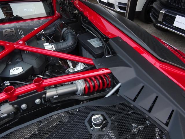 LP750-4 アヴェンタドール SV 世界限定600台 ディーラー車 カーボンインテリア パワークラフト可変マフラー&キャタストレート 純正マフラー有 フルプロテクションフォルム施工 SVビックデカール 備品全有(67枚目)