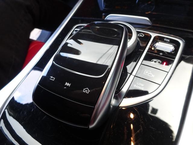 G63 G63AMG エクスクルーシブPKG ナッパレザー赤革S 電動スライディングルーフ AMGパフォーマンスエキゾーストシステム ツートンラッピング 22AWピレリ新品 新品AMGマット 取保記スペア有り(29枚目)