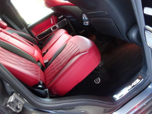G63 G63AMG エクスクルーシブPKG ナッパレザー赤革S 電動スライディングルーフ AMGパフォーマンスエキゾーストシステム ツートンラッピング 22AWピレリ新品 新品AMGマット 取保記スペア有り(39枚目)