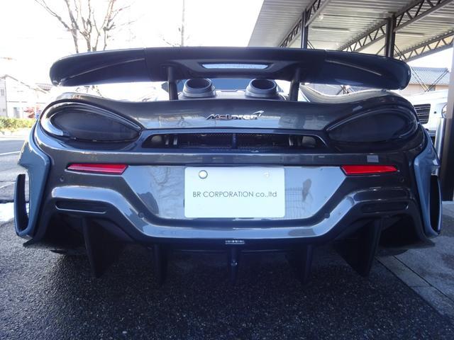 600LTスパイダー 正規ディーラー車 ワンオーナー車 アップグレード1 セキュリティP スペシャルP 純正ナビ バックカメラ 2.0ETC コンポーネントカーボンファイバーエクステリア F&Rパーキングセンサー スペア有(47枚目)