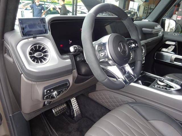 G63 マヌファクトゥーアエディション 全国300台限定 屋内保管 ワンオーナー プロテクション施工 AMGナイトパッケージ AMGエクスクルーシブパッケージ マットブラック22AW ナッパフルレザーインテリア 新車取説 保証書 スペアキー(24枚目)