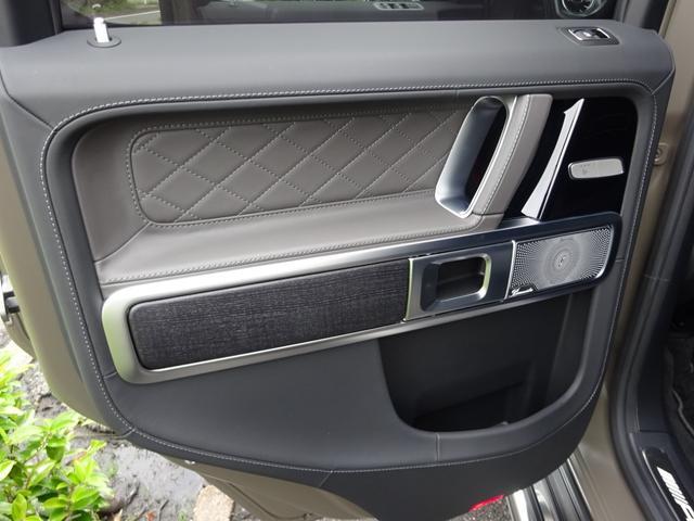 G63 マヌファクトゥーアエディション 全国300台限定 屋内保管 ワンオーナー プロテクション施工 AMGナイトパッケージ AMGエクスクルーシブパッケージ マットブラック22AW ナッパフルレザーインテリア 新車取説 保証書 スペアキー(27枚目)