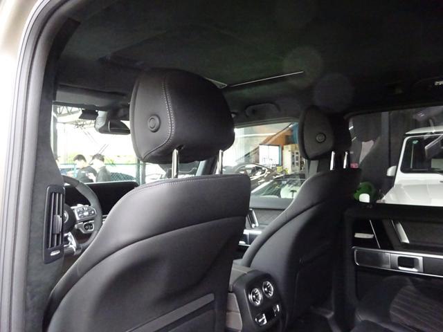 G63 マヌファクトゥーアエディション 全国300台限定 屋内保管 ワンオーナー プロテクション施工 AMGナイトパッケージ AMGエクスクルーシブパッケージ マットブラック22AW ナッパフルレザーインテリア 新車取説 保証書 スペアキー(28枚目)