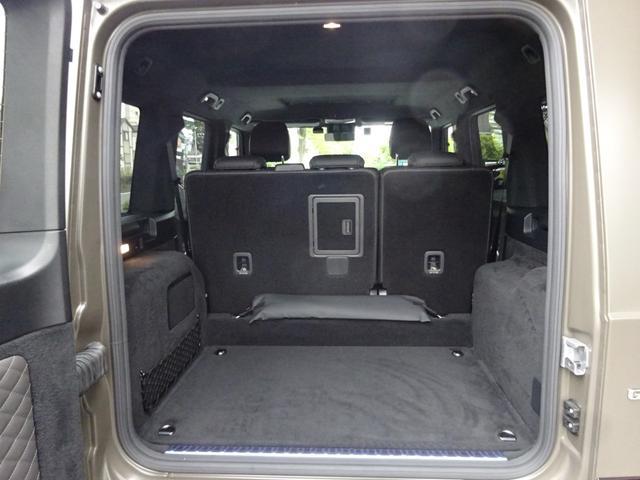 G63 マヌファクトゥーアエディション 全国300台限定 屋内保管 ワンオーナー プロテクション施工 AMGナイトパッケージ AMGエクスクルーシブパッケージ マットブラック22AW ナッパフルレザーインテリア 新車取説 保証書 スペアキー(32枚目)