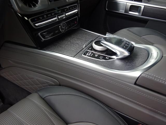 G63 マヌファクトゥーアエディション 全国300台限定 屋内保管 ワンオーナー プロテクション施工 AMGナイトパッケージ AMGエクスクルーシブパッケージ マットブラック22AW ナッパフルレザーインテリア 新車取説 保証書 スペアキー(33枚目)