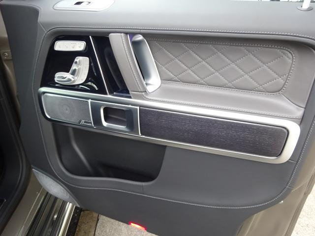 G63 マヌファクトゥーアエディション 全国300台限定 屋内保管 ワンオーナー プロテクション施工 AMGナイトパッケージ AMGエクスクルーシブパッケージ マットブラック22AW ナッパフルレザーインテリア 新車取説 保証書 スペアキー(42枚目)