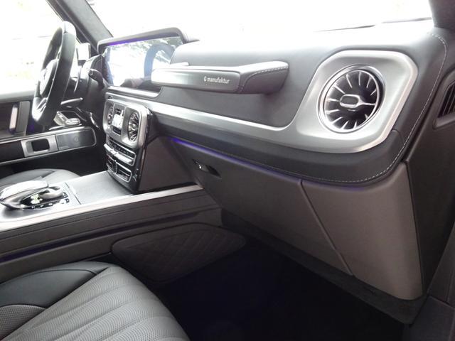 G63 マヌファクトゥーアエディション 全国300台限定 屋内保管 ワンオーナー プロテクション施工 AMGナイトパッケージ AMGエクスクルーシブパッケージ マットブラック22AW ナッパフルレザーインテリア 新車取説 保証書 スペアキー(43枚目)