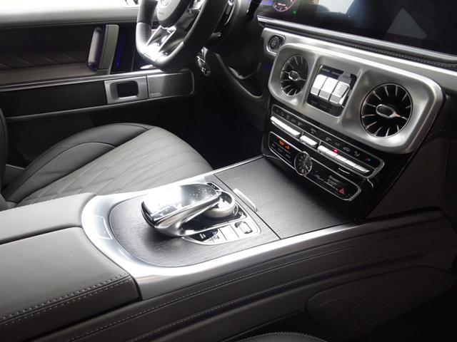 G63 マヌファクトゥーアエディション 全国300台限定 屋内保管 ワンオーナー プロテクション施工 AMGナイトパッケージ AMGエクスクルーシブパッケージ マットブラック22AW ナッパフルレザーインテリア 新車取説 保証書 スペアキー(45枚目)