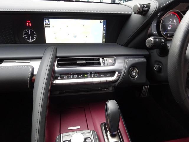 LC500 Sパッケージ TRDエアロ TRD鍛造21インチアルミホイール カーボンルーフ マークレビンソン プレミアムサウンド 純正10.3インチナビ フルセグ バックカメラ ETC ヘッドアップディスプレイ 新車取保スぺ有(39枚目)
