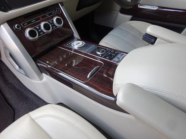 3.0 V6 スーパーチャージド ヴォーグ 正規ディーラー車 AVANTGARDE24インチ ハーマンフロントスポイラー ハーマンリアスポイラー ワンオフマフラーデュアル出し 探知機レーダー ドライブレコーダー付 後席モニター 取保スぺ有り(34枚目)