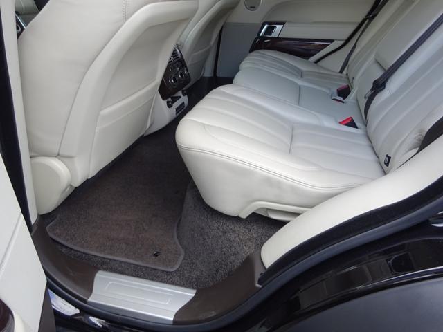 3.0 V6 スーパーチャージド ヴォーグ 正規ディーラー車 AVANTGARDE24インチ ハーマンフロントスポイラー ハーマンリアスポイラー ワンオフマフラーデュアル出し 探知機レーダー ドライブレコーダー付 後席モニター 取保スぺ有り(37枚目)