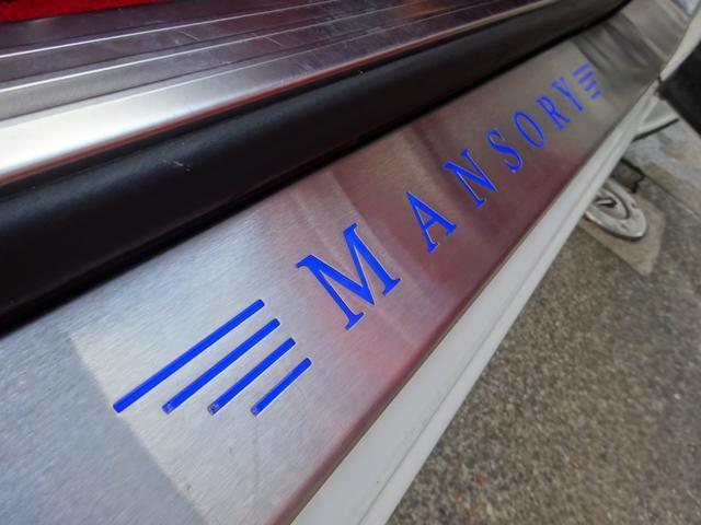 GT MANSORY後期エアロ メッキグリル コンビハンドル 赤革レザーインテリア イージークローズドア ロアリングKIT ハイパーフォージド カーボンリアスポイラー シートヒーター(24枚目)