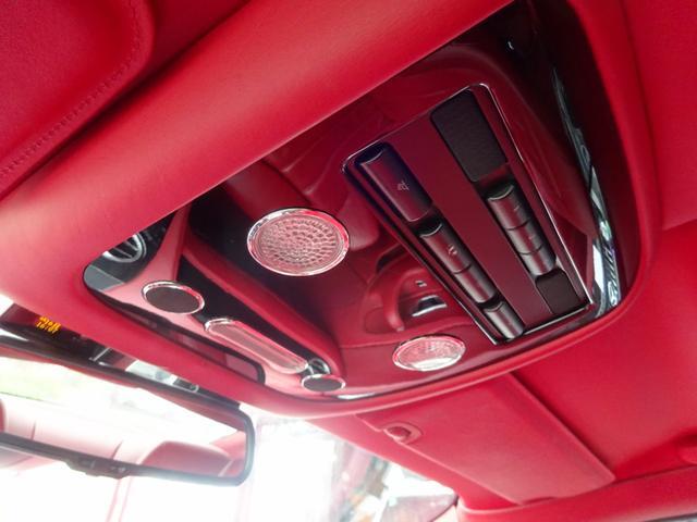 GT MANSORY後期エアロ メッキグリル コンビハンドル 赤革レザーインテリア イージークローズドア ロアリングKIT ハイパーフォージド カーボンリアスポイラー シートヒーター(44枚目)