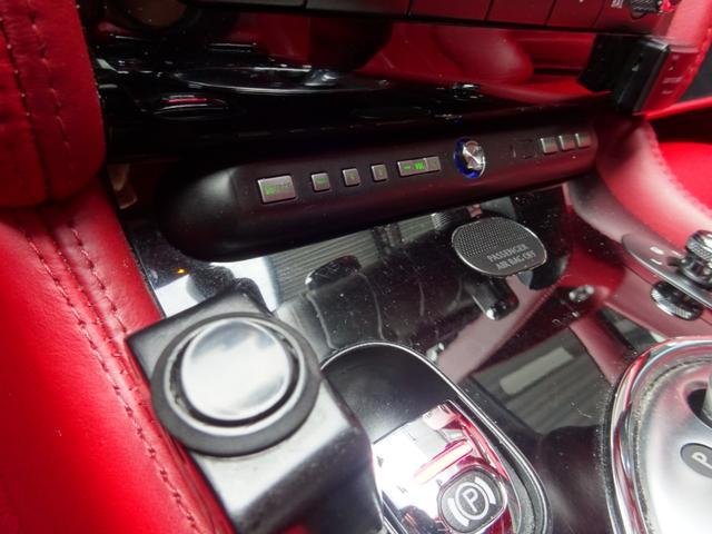 GT MANSORY後期エアロ メッキグリル コンビハンドル 赤革レザーインテリア イージークローズドア ロアリングKIT ハイパーフォージド カーボンリアスポイラー シートヒーター(46枚目)