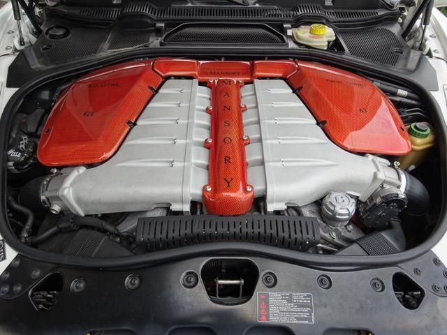 GT MANSORY後期エアロ メッキグリル コンビハンドル 赤革レザーインテリア イージークローズドア ロアリングKIT ハイパーフォージド カーボンリアスポイラー シートヒーター(49枚目)