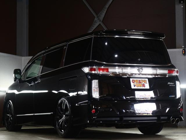 2.5 ライダー20inアルミ/車高調/黒本革シート(9枚目)