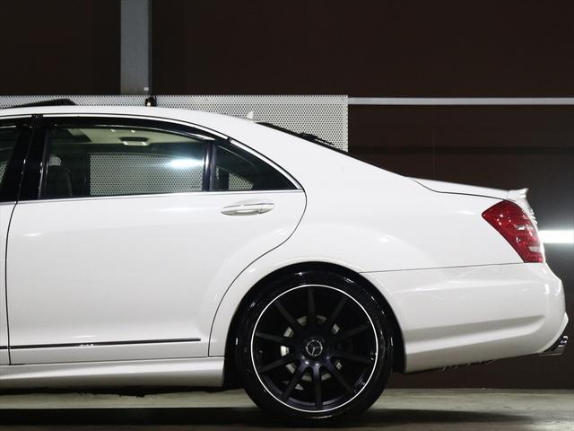 S550ロング 社外20inアルミ/ディーラー車/サンルーフ(8枚目)
