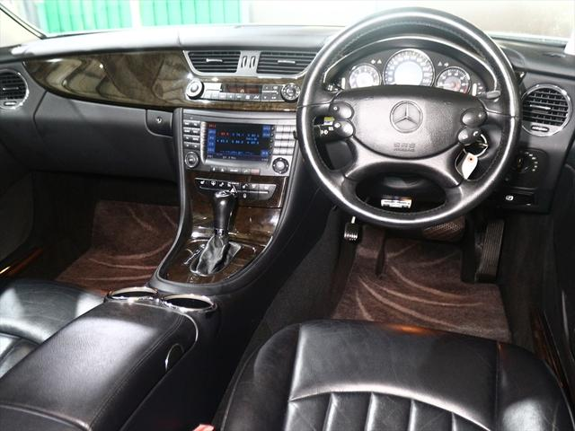 CLS350  黒革シート/純正18inアルミ/ETC(14枚目)