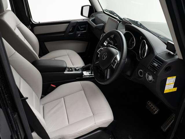 G350dワンオーナーサンルーフ内装アイボリーシートヒーター(13枚目)