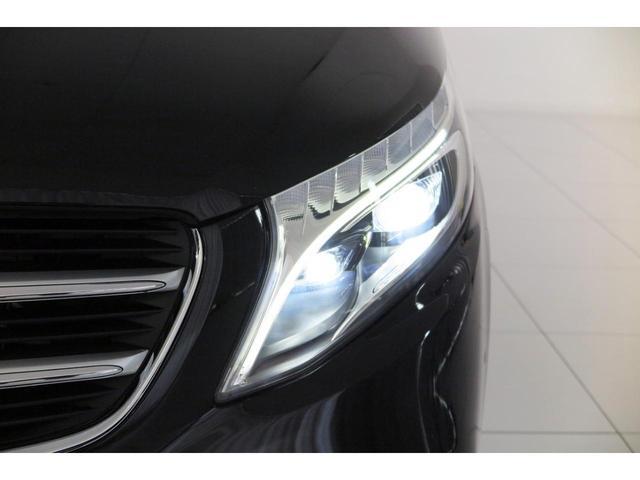 V220dスポーツロングAMGラインSR黒革電スラ認定保証付(5枚目)