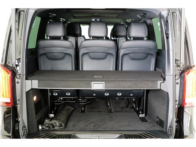 V220dスポーツロングAMGラインSR黒革電スラ認定保証付(12枚目)