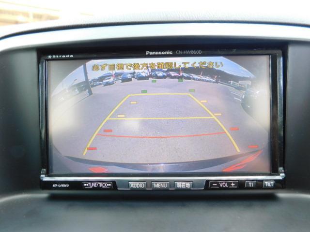 XD /1年保証付/HDDナビ/フルセグ/Bカメラ/サイドカメラ/DVD再生/プッシュスタート/ETC/オートライト/HIDヘッドライト/純正17インチAW(8枚目)