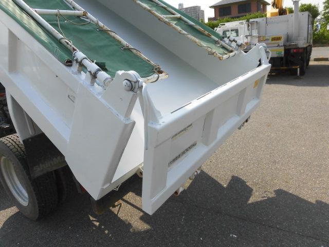 全低床3トン積ダンプ新明和製 コボレ-ン付 集中ドアロック(10枚目)