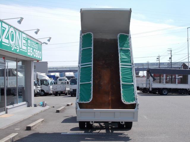 全低床 強化ダンプ 2トン積 3方開 集中ドアロック(4枚目)