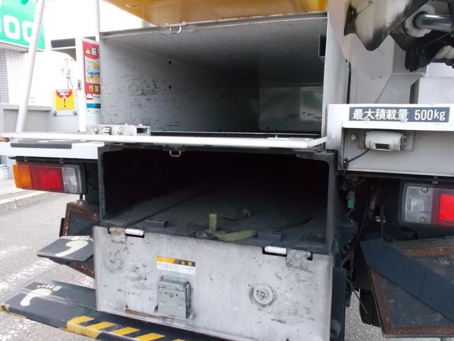 高所作業車 HDDナビ リヤモニター キーレス 左電格ミラー(9枚目)