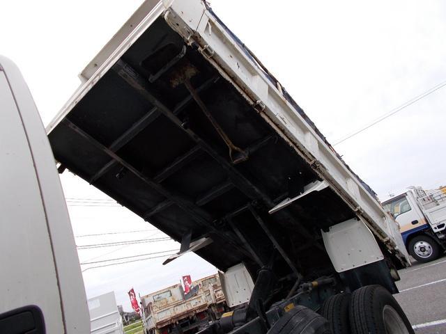 3トン積高床強化ダンプ 3方開 床鉄板増張コボレーン付(8枚目)