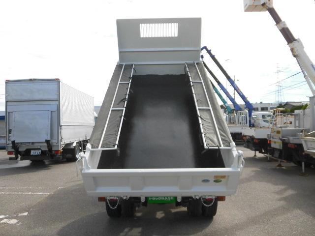 全低床・3方開・横綱強化ダンプ3トン積・排出ガス浄化装置(7枚目)