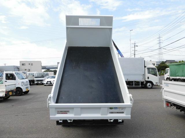 全低床 3方開 強化ダンプ 2トン積 排出ガス浄化装置(6枚目)
