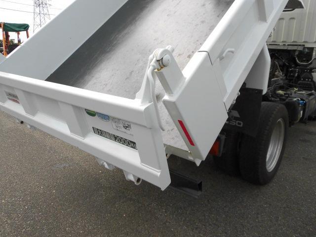 全低床 3方開 強化ダンプ 2トン積 排出ガス浄化装置(8枚目)