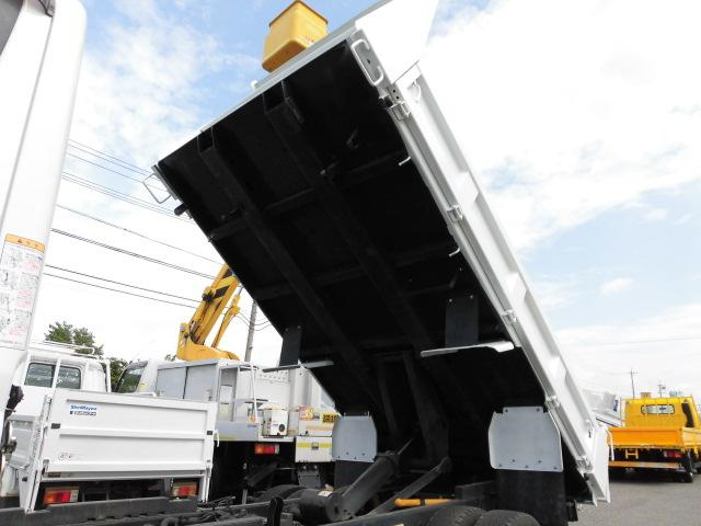 全低床 3方開 強化ダンプ 2トン積 排出ガス浄化装置(10枚目)