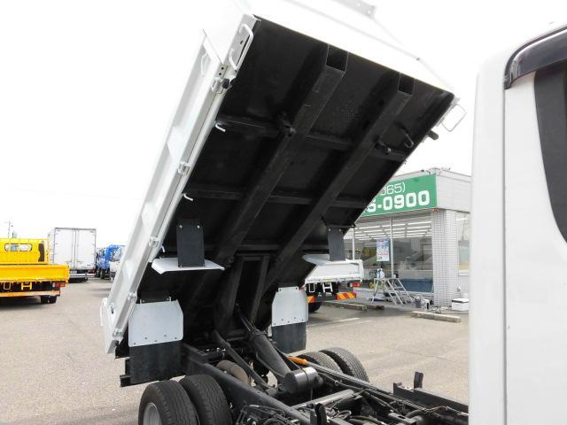 全低床 3方開 強化ダンプ 2トン積 排出ガス浄化装置(11枚目)