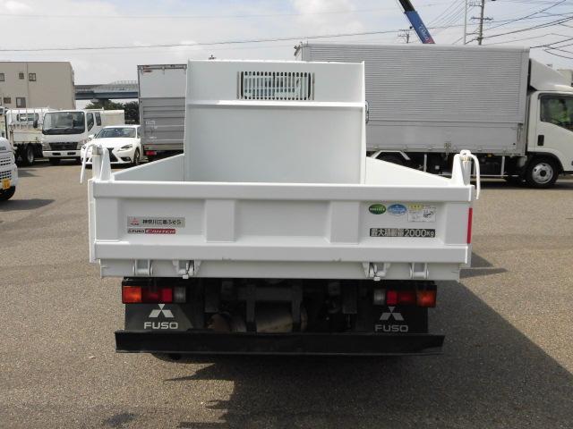 全低床 3方開 強化ダンプ 2トン積 排出ガス浄化装置(19枚目)
