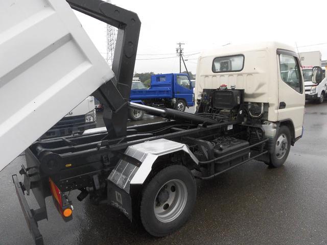 脱着装置付コンテナ専用車・左右格納ミラー(7枚目)