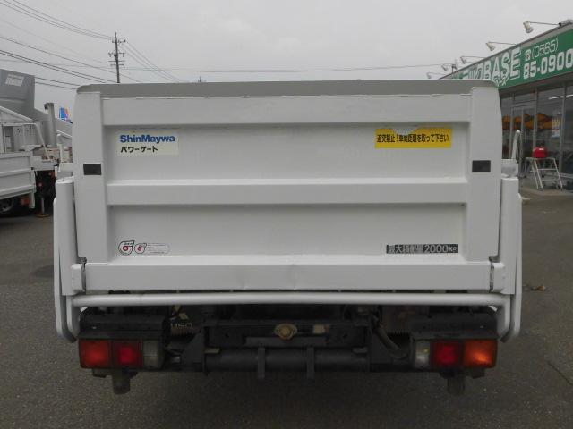 ロング平ボディ・パワーゲート・2トン積・排出ガス浄化装置(6枚目)