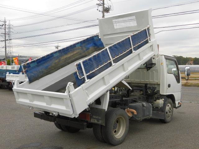 3方開2トン積高床ダンプ・コボレーン付・排出ガス浄化装置(7枚目)